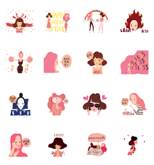 Happy Pond's Happy New Year | Sticker for LINE & WhatsApp — Android ...