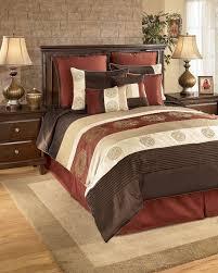 Milano Bedroom Furniture Oversized King Size Bedding 126x120 Milano Russett King Bedding
