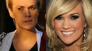 9 pictures of carrie underwood without makeup