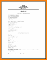 Resume Reference Page Template Resume Reference Sheet Template