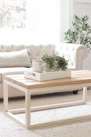 Create this practical coffee table by simply adding two wooden pallets on top of each other. Simple Diy Coffee Table Diy Furniture Easy Diy Coffee Table Diy Furniture Table