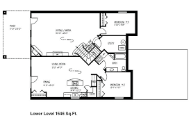 3 bedroom floor plans with basement ranch house plans with finished basement new home floor plans