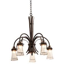 kalco lighting dover antique copper five light chandelier