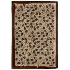 northwoods pinecone 2x4 rug northwoods pinecone 6x9 rug