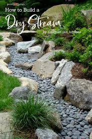 Design A Rock A Beautiful Way To Catch Runoff How To Build A Dry Stream