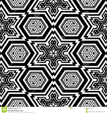 Printable Coloring Pages geometric shape coloring pages : Geometric Shapes Coloring Book Stock Vector - Image: 92963141