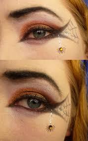 diy makeup spiderweb eye great idea for pta pto party