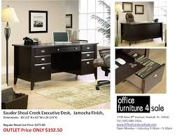 sauder shoal creek desk jamocha wood gorgeous sauder shoal creek desk jamocha wood white executive 4