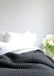Quilts And Coverlets Home Is Better With U With Urbanara Charcoal ... & Grey Quilts And Coverlets Home Is Better With U With Urbanara Charcoal  Cotton Quilt Bedspread In A Light ... Adamdwight.com