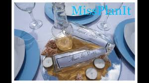 Beach Wedding Centerpiece / DIY / How to Create A Message In A Bottle Flash  Back Friday Snap!