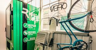 I Used To Ride With A Vending Machine Repairman Beauteous Bike Part Vending Hub And Free Repair Station Indiegogo