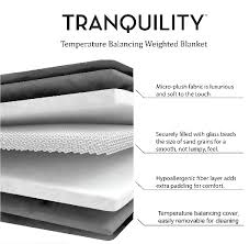 Weighted Blanket Chart Why You Need A Weighted Blanket In Your World Just Short