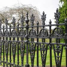 cast iron grill fencing for home