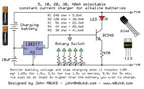 alkaline battery charging circuit m0ukd amateur radio blog alkaline battery charging circuit