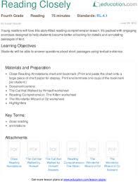 Sample Common Core Lesson Plan Delectable 48th Grade Reading Lesson Plans Education