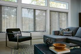 fabric window blinds. Brilliant Blinds Fabric Verticals Offers A Soft Look For Any Room And Is Great Large  Windows Intended Window Blinds C