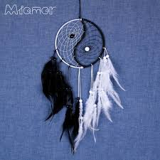 Chinese Dream Catcher Interesting Gift Chinese Kung Fu Tai Chi Yin Yang Dreamcatcher Wind Chimes