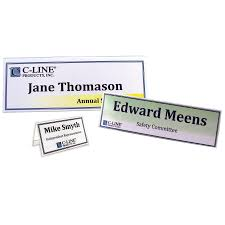 name tent amazon com c line plastic name tent holders 2 x 3 1 2 inches