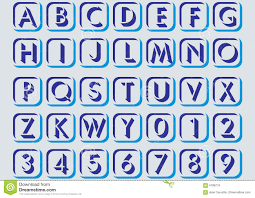 alphabetical letters laptuoso in alphabetical letters royalty stock photos image 4108718