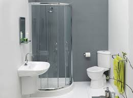 bathroom storage behind toilet and glass design ideas