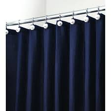 extra long waffle weave shower curtain liner smlf