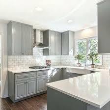 home design iced white quartz kitchen