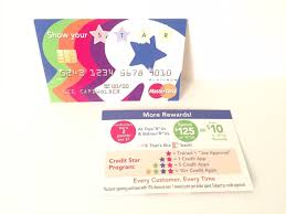 2 of 7 toys r us employee credit card star cards 2 pieces new