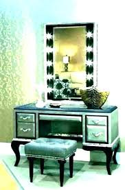 vanity sets with mirror lighted makeup table mirrored set for bedroom vanity sets with mirror set lights dressing table