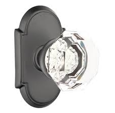 Image Wayfair Emtek Crystal Old Town Clear Door Knob Set Homestead Hardware Emtek Old Town Clear Crystal Door Knob Shop Glass Door Knobs At
