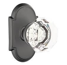 glass door knobs. Brilliant Knobs Emtek Crystal Old Town Clear Door Knob Set Throughout Glass Knobs K