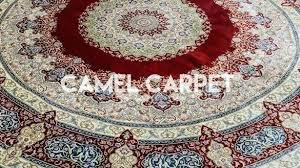8 ft round area rugs foot brilliant hand knotted camel carpet intended for wool 8ft x 5ft