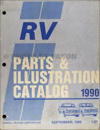 1990 chevy suburban blazer r v pickup wiring diagram original 1990 chevrolet and gmc pickup rv parts book original 129 00