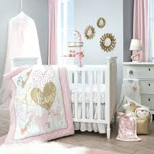 hot pink gold crib bedding and baby lambs ivy 4 piece set white love blush pink and gold baby bedding