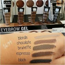 nyx makeup eyebrows. nyx cosmetics eyebrow gels - just ordered chocolate \u0026 cannot wait to try it. nyx makeup eyebrows