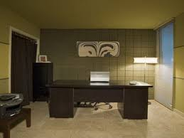 office table ideas. Living Room. Black Wooden Office Table On Beige Tile Floor Added By Khaki Panel And Ideas J