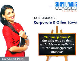 Sp Classes Ca Intermediate Corporate Other Law New Syllabus Chart Book By Ankita Patni
