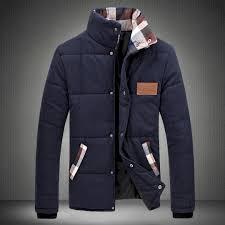 plaid winter coats for men plus size