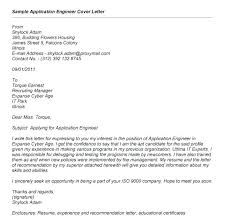 Cover Letter For Experienced Software Engineer Engineering Job Cover Letter Application Engineer Cover Letter Great