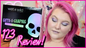 Wet n Wild Goth-O-Graphic Full <b>Collection</b> Review! // Testing ...