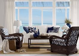 nautical living room furniture. Living Room: Rattan Chairs In Black With And White Cushion_white Table Lamp_white Frame Window_plain Nautical Room Furniture D