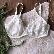 La Perla Studio Off White Lace Bra 34e