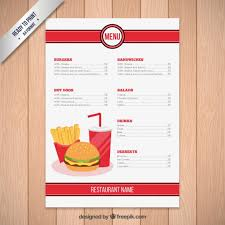 Free Food Menu Template Extraordinary Indian Restaurant Menu Template Unique Restaurants Menus Templates