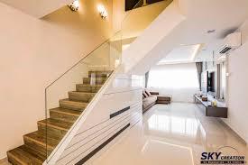 Hdb Em Interior Design Executive Maisonette Tampines St 83 Sky Creation Singapore