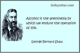 Quotes About Alcohol Nice Alcohol Quotes Alcohol Is Anesthesia Of Life Photos and Ideas 81
