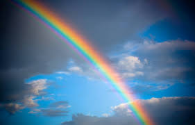 Natural Rainbow On Sky Wallpaper Hd Wallpapers