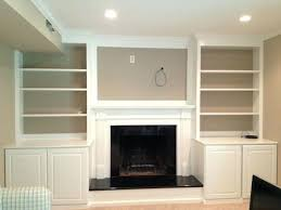 custom and painting fireplace mantels built in cabinets built bookshelves around fireplace built in bookcase fireplace