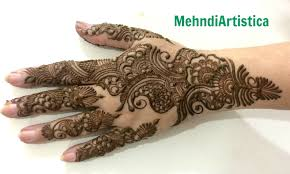 Pure Arabic Mehendi Design For Hands Traditional Arab Henna Bel By