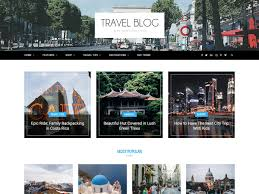 Create Your Own Blog 20 Best Wordpress Travel Blog Themes 2019 Athemes