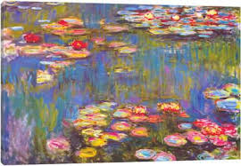 canvas paintings for sale. Water Lilies, 1916 Canvas Art Print Paintings For Sale