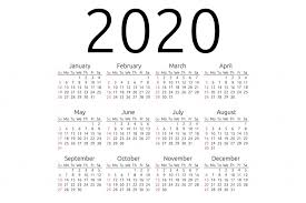 Monthly 2020 Calendar Templates Free Blank Printable Calendar 2020 Template In Pdf Excel